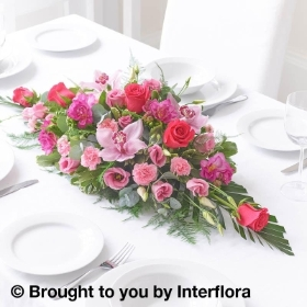Pink Celebration Floral Centrepiece