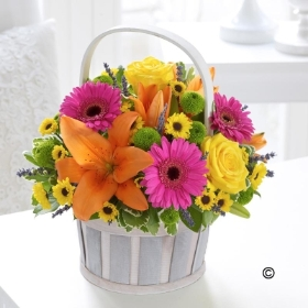 Florist Choice Flower Basket
