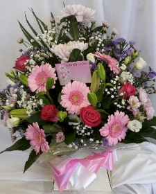Florist Choice Boxed Handtied
