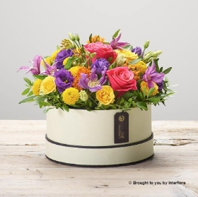 Florist Choice Hatbox Arrangement