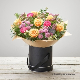 Florist Choice Tall Hatbox Arrangement